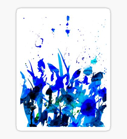 BAANTAL / Pollinate / Field #1 Glossy Sticker
