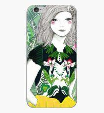Ferns and Fuschia iPhone Case