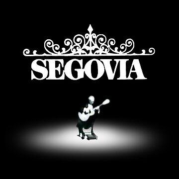Andrés Segovia by zeech