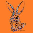 Rabbit © feathers & eggshells - wild new things are born by wildnewthings