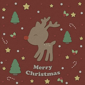 Cute Reindeer  by ValentinaHramov