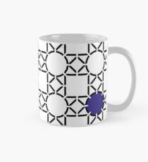 Pattern blue Mug