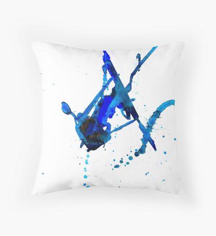 BAANTAL / Patch #10 Throw Pillow