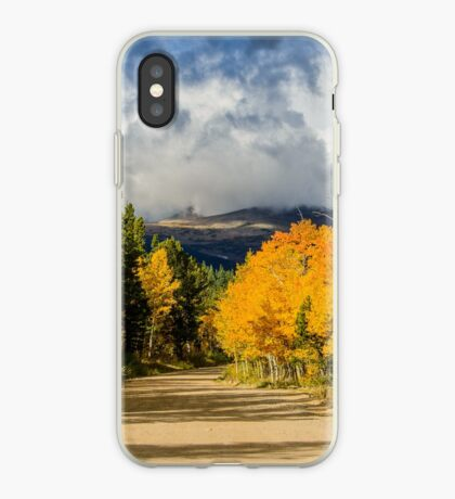 Fall Rocky Mountain Road  iPhone Case
