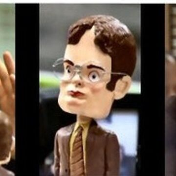 Dwight Schrute mind control the office  by VinyLab