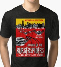 Attack of the burgerspiders Tri-blend T-Shirt