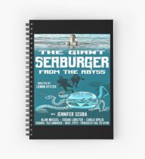 The giant seaburger from the abyss Spiral Notebook