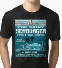 The giant seaburger from the abyss Tri-blend T-Shirt