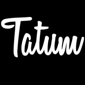 Hey Tatum buy this now by namesonclothes