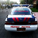 Police Car, Ubud, Bali by JonathaninBali