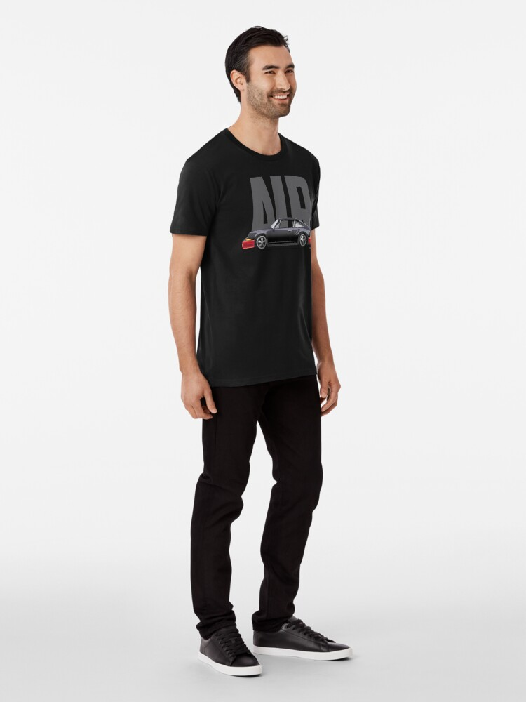 Alternate view of Air-Black Premium T-Shirt