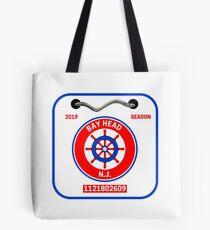 Bay Head Beach Badge Tote Bag