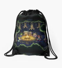 Chrono Camping Pixels Drawstring Bag