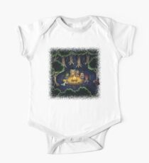 Chrono Camping Pixels Short Sleeve Baby One-Piece