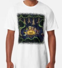Chrono Camping Pixels Long T-Shirt