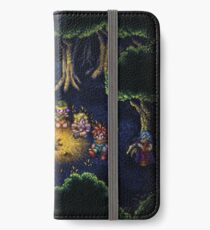 Chrono Camping Pixels iPhone Wallet/Case/Skin