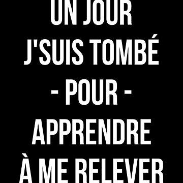 Un Jour J'suis Tombé Pour Apprendre À Me Relever - PNL T-shirt by drakouv