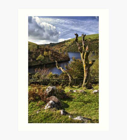 Meldon Reservoir, Dartmoor National Park, Devon Art Print