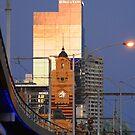 Flinders Station, Melbourne by Stuart Robertson Reynolds