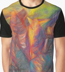 Sunset in Leaves  Graphic T-Shirt
