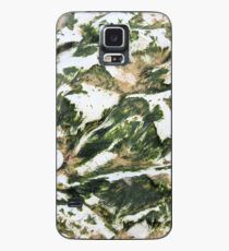 Seaweed and white cliffs texture Case/Skin for Samsung Galaxy