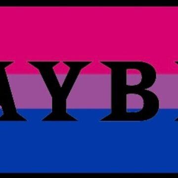 bi flag playbill sticker by jayymarie