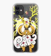 Tribalish Mega Ampharos - Eye of the Storm iPhone Case