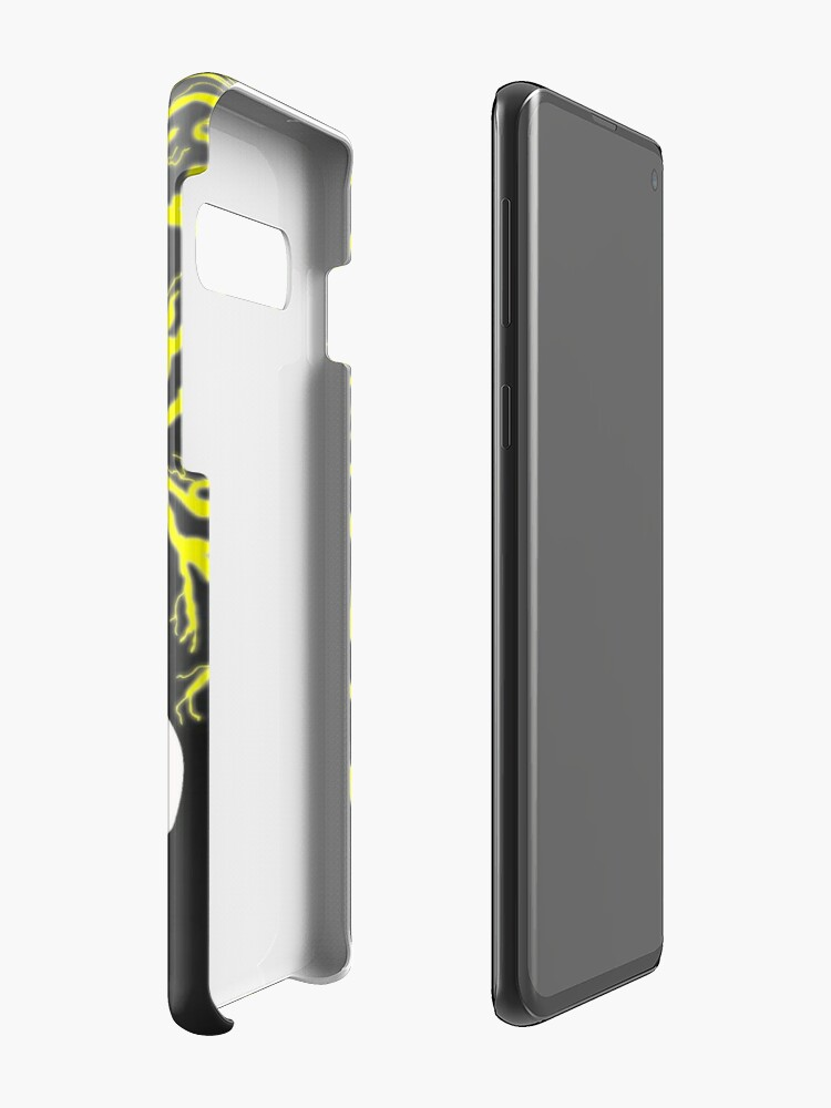 Alternate view of Tribalish Mega Ampharos - Eye of the Storm Case & Skin for Samsung Galaxy