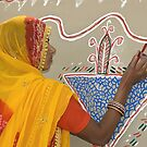Traditional Art of Rajasthan by Mukesh Srivastava