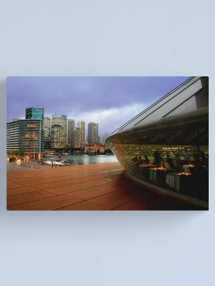 Alternate view of Guillaume at Bennelong, Sydney Opera House, Australia. Canvas Print