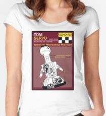 Servo Workshop Manual Women's Fitted Scoop T-Shirt
