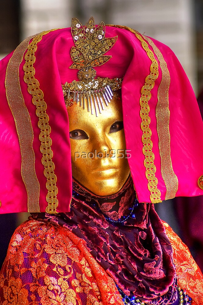 Venice - Carnival  Mask Series 08 by paolo1955
