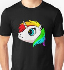 Unicorn Head Unisex T-Shirt