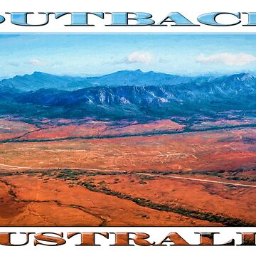 Wilpena Pound  (digital painting) by RayW