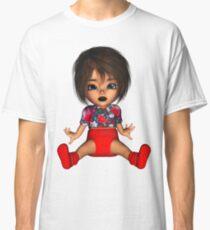 Cute Fun Toon Goth Baby Classic T-Shirt