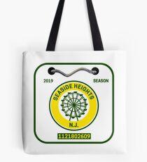 Seaside Heights Beach Badge Tote Bag