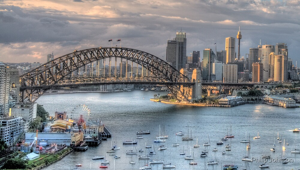 Sydney Fantasia - Moods Of ACity - The HDR Experience by Philip Johnson