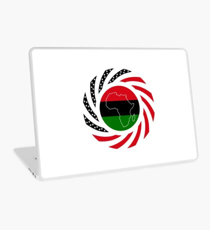 Black Murican Patriot Flag Series Laptop Skin