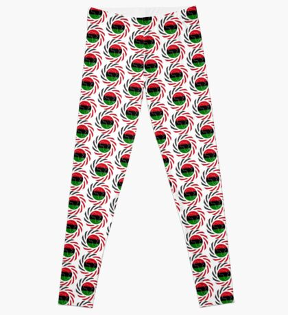 Black Murican Patriot Flag Series Leggings