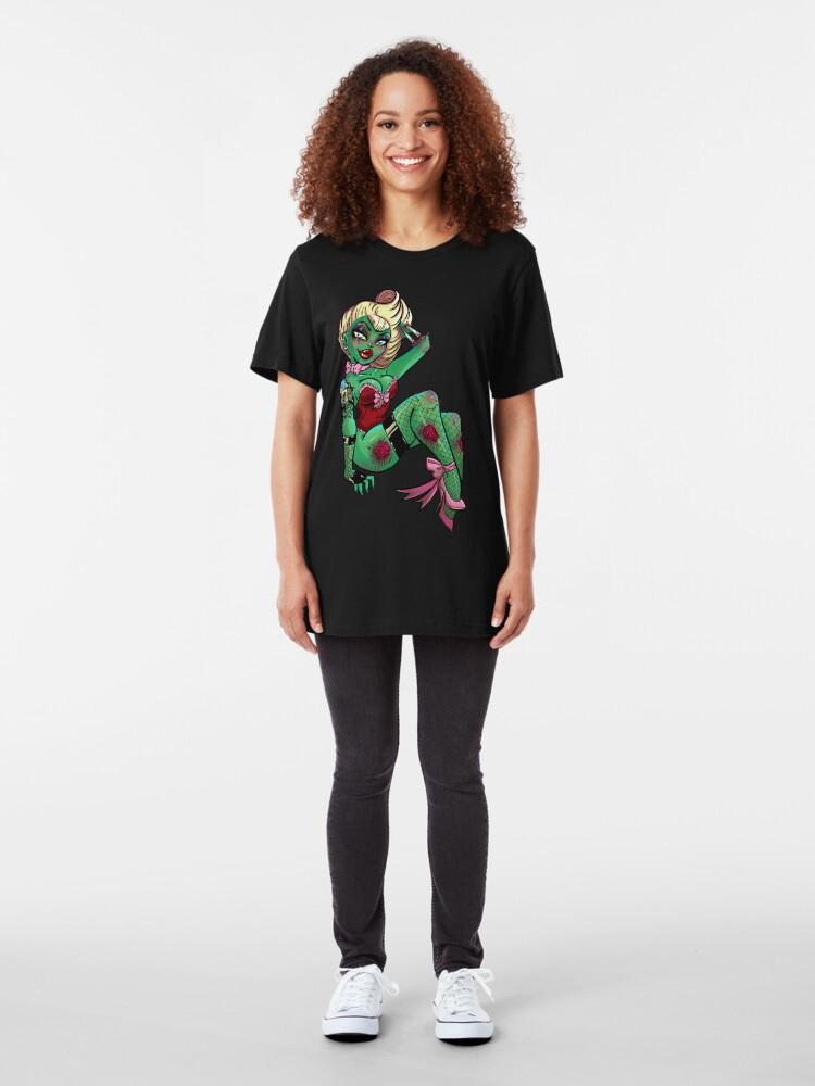 Alternate view of Zombie-licious Zaria Slim Fit T-Shirt