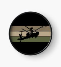 Apache Helicopter Clock