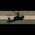 Apache Helicopter by MilitaryCandA