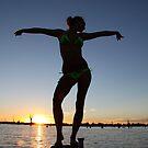 Sunset Yarrawonga by PaulsPlace