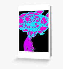 Complex Thoughts Greeting Card