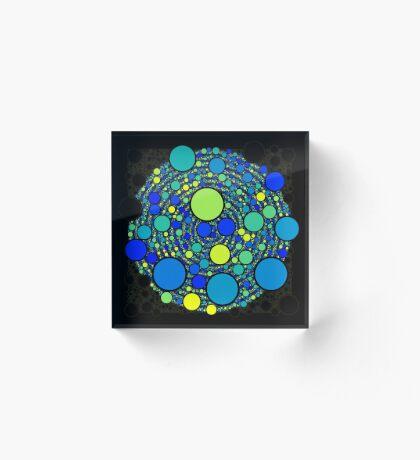 Circle_No_Intersect_NEW_007 Acrylic Block