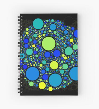 Circle_No_Intersect_NEW_007 Spiral Notebook