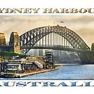 Sydney Harbour by Ray Warren