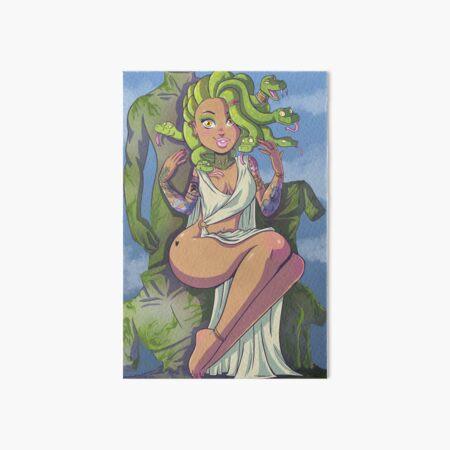Medusa Art Board Print