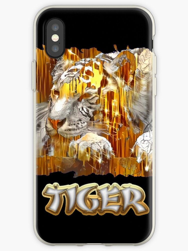 Gold and silver bamboo tiger by anunusualwoman