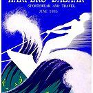 HARPERS BAZAAR : Vintage 1935Magazine Advertising Print by posterbobs